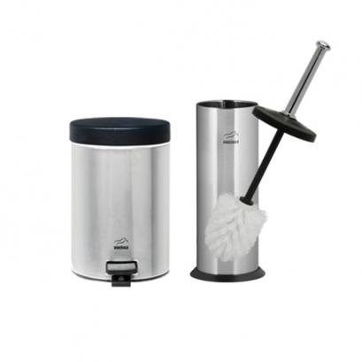 سرویس سطل و برس توالت  برس