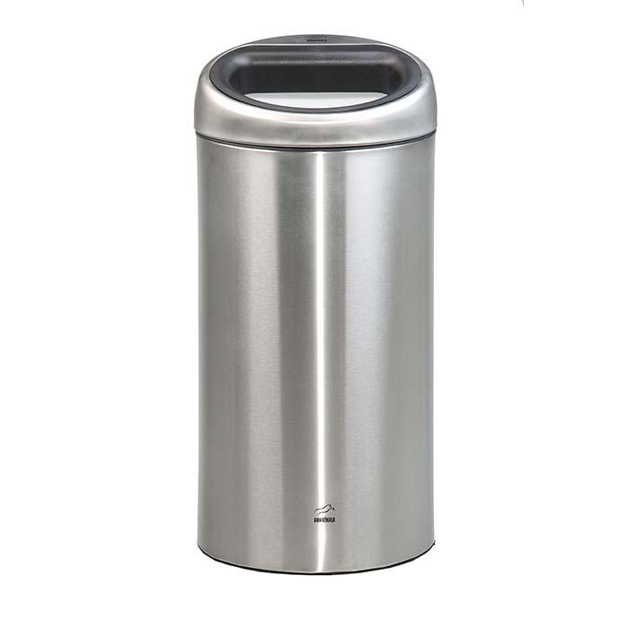 سطل زباله 45 لیتری استیل در استیل