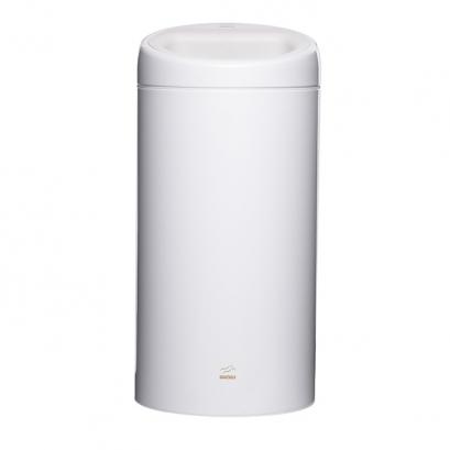 سطل زباله 45 لیتری سفید فلزی