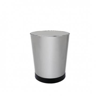 سطل زباله مخروطی نقره ای