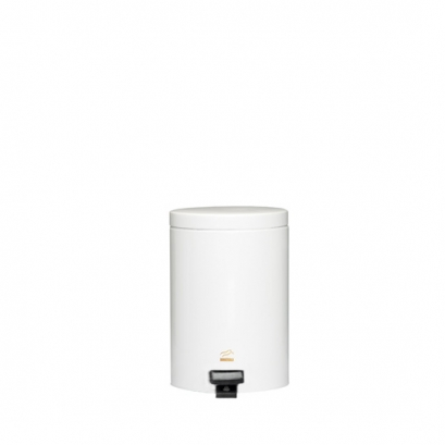 سطل زباله پدالدار 3 لیتری سایلنت سفید