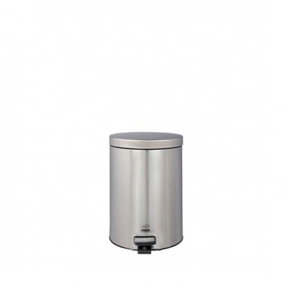 سطل زباله پدالدار 3 لیتری سایلنت تمام استیل