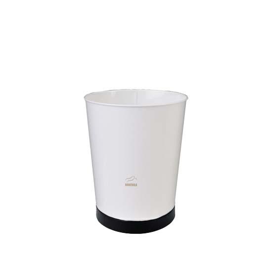 سطل زباله مخروطی سفید