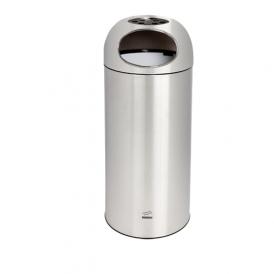 سطل زباله اداری تمام استیل