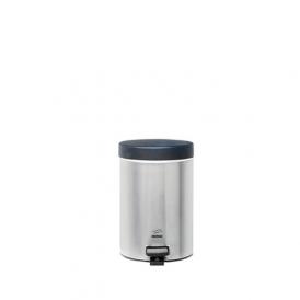 سطل زباله پدالدار 3 لیتری استیل مشکی