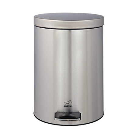 سطل زباله پدالدار 14 لیتری سایلنت استیل